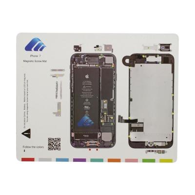 Magnetická podložka na opravu telefonu iPhone 7
