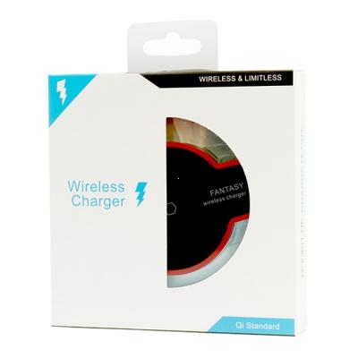 Indukční nabíječ ENTERPRISE LED Reverse 2A barva černá