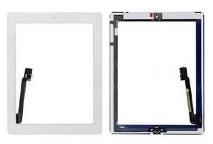 Dotyková deska Apple iPad 3, 4  bílá originál + tlačítko HOME + Lepítka