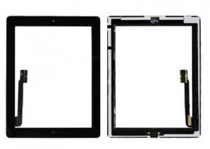 Dotyková deska Apple iPad 3, 4  černá originál + tlačítko HOME + Lepítka