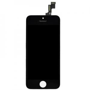 Dotyková deska iPhone 5S, SE + LCD černá Class A