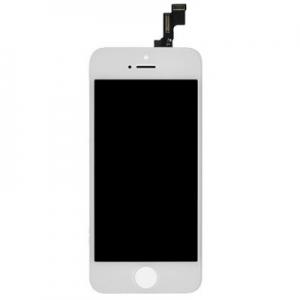 Dotyková deska iPhone 5S, SE + LCD bílá Class A