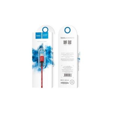 Datový kabel HOCO X14 micro USB TYP-C barva červená - 2 metry