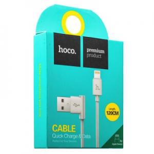 Datový kabel HOCO UPL11 90° iPhone Lightning barva bílá