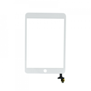 Dotyková deska Apple iPad mini 3 včetně IC + tlačítko HOME bílá