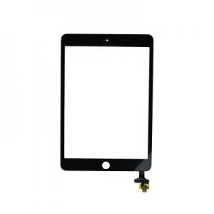 Dotyková deska Apple iPad mini 3 včetně IC + tlačítko HOME černá