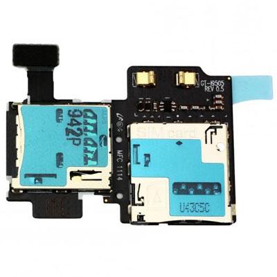 Samsung i9500, i9505 Galaxy S4 flex pásek SIM / SD Card reader