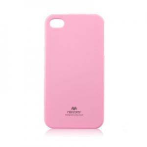 Pouzdro MERCURY Jelly Case iPhone 5, 5S, SE světle růžová