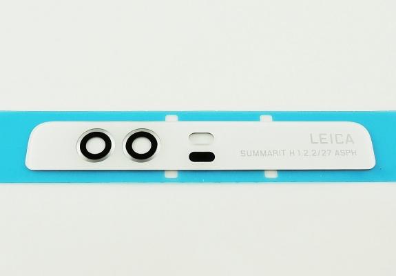 Sklíčko zadní kamery Huawei P9 bílá