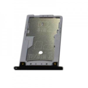 Držák (šuplík) SIM Xiaomi Redmi 3X, 4X černá / grey