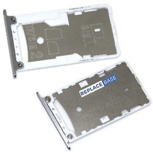 Držák (šuplík) SIM Xiaomi Redmi 3X, 4X bílá / silver