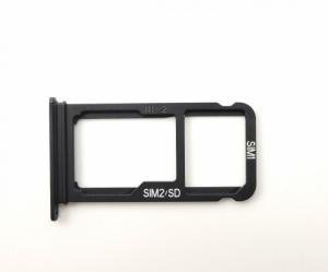 Držák (šuplík) SIM Huawei MATE  10 černá