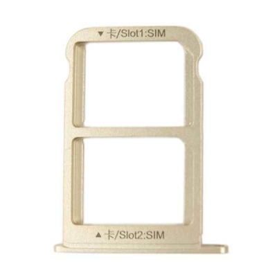 Držák (šuplík) SIM Huawei MATE 9 zlatá