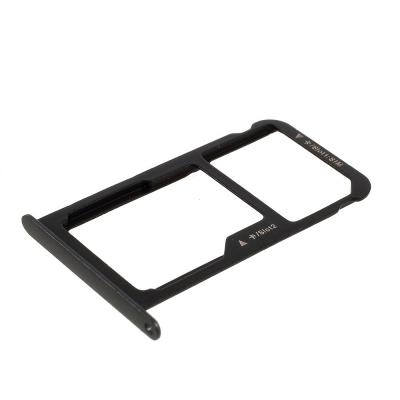 Držák (šuplík) SIM Huawei P9, P9 LITE černá