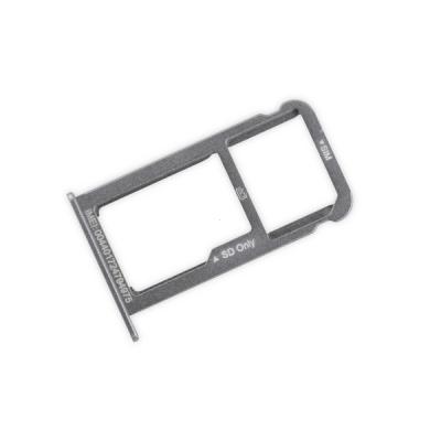 Držák (šuplík) SIM Huawei P9, P9 LITE bílá / silver