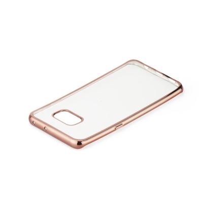 Pouzdro Jelly Case ELECTRO RING Huawei P20 Lite - rose gold