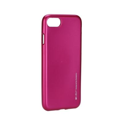 Pouzdro MERCURY i-Jelly Case METAL Huawei P10 LITE růžová