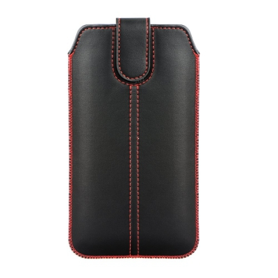 Pouzdro FORCELL M4 iPhone 3, 4, 4S, S5830, S6310, černá