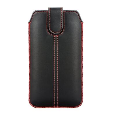 Pouzdro FORCELL M4 Samsung i9500, A3, iPhone 6, 7, 8 černá