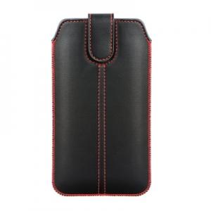Pouzdro FORCELL M4 iPhone 12, 13 Mini, 6, 7, 8, SE 2020, Samsung S4, A3, černá
