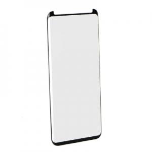 Tvrzené sklo 5D FULL GLUE Samsung G955 Galaxy S8 PLUS černá - velikost pro pouzdra