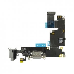 Flex iPhone 6 PLUS (5,5) s konektorem nabíjení Barva šedá