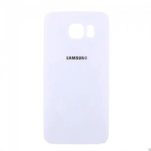 Samsung G920 Galaxy S6 kryt baterie + lepítka bílá