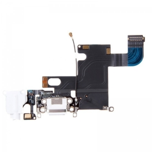 Flex iPhone 6 4,7 s konektorem nabíjení Barva bílá