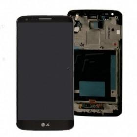 Dotyková deska LG G2 (D802) + LCD + rámeček černá