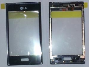 Dotyková deska LG L5 E610 + přední kryt černý originál