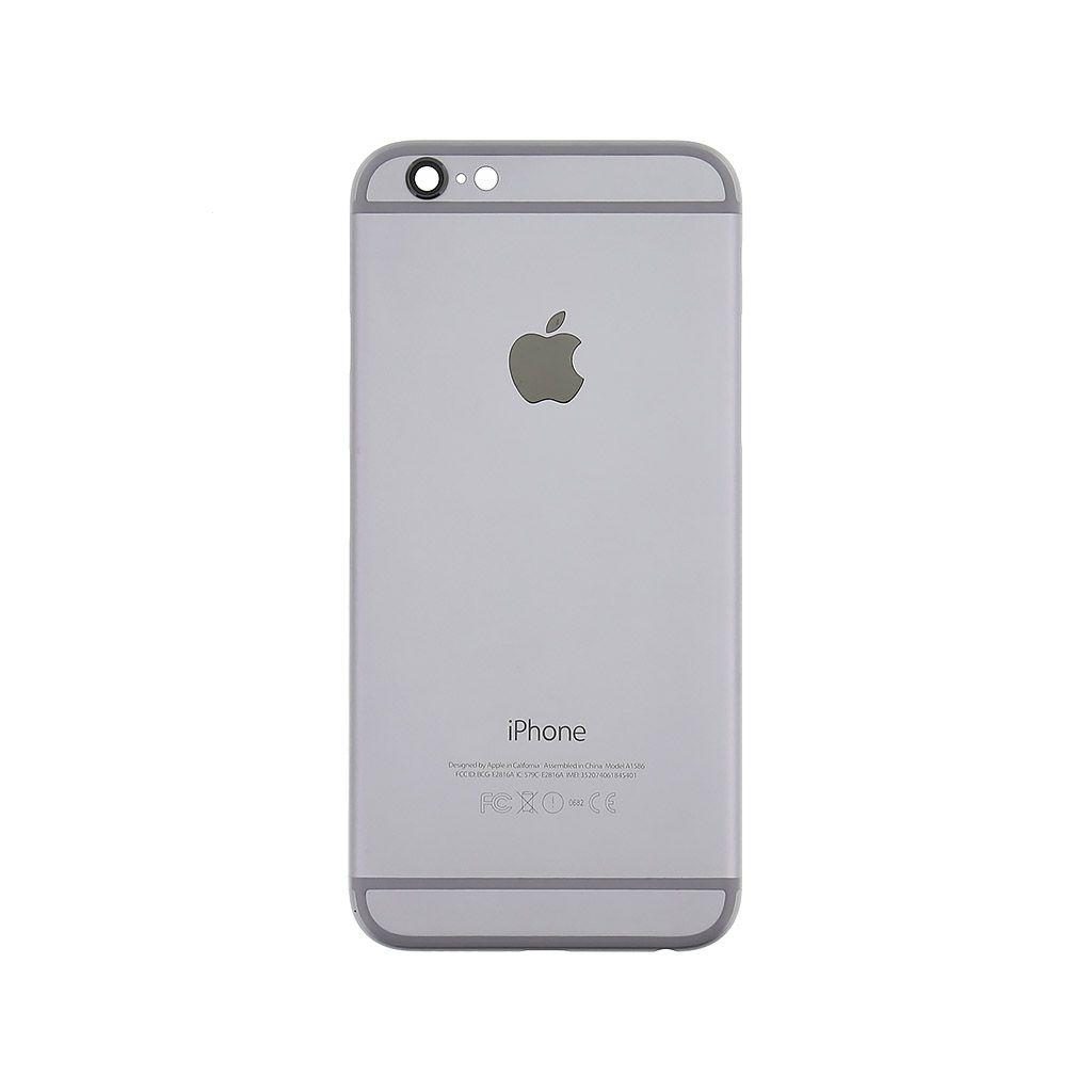 Kryt baterie + střední iPhone 6 4,7 originál barva grey