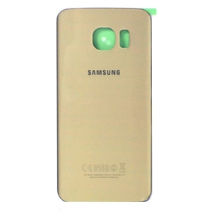 Samsung G925 Galaxy S6 Edge kryt baterie + lepítka zlatá