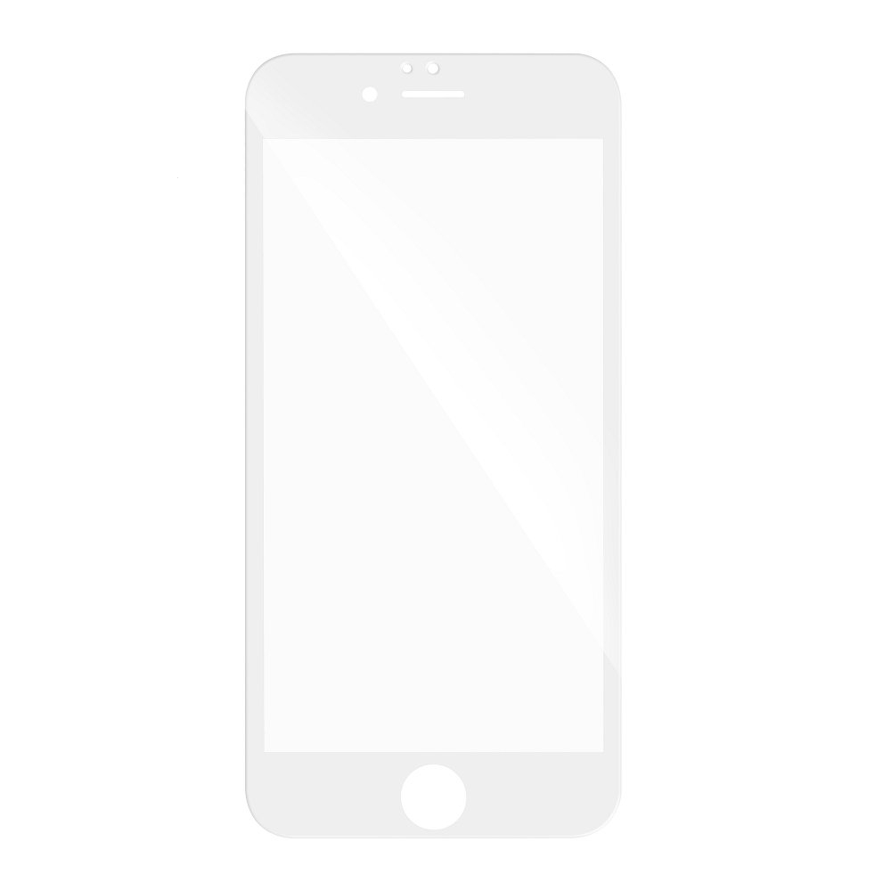 Tvrzené sklo 3D FULL GLUE Huawei P8 LITE 2017, P9 LITE 2017 bílá