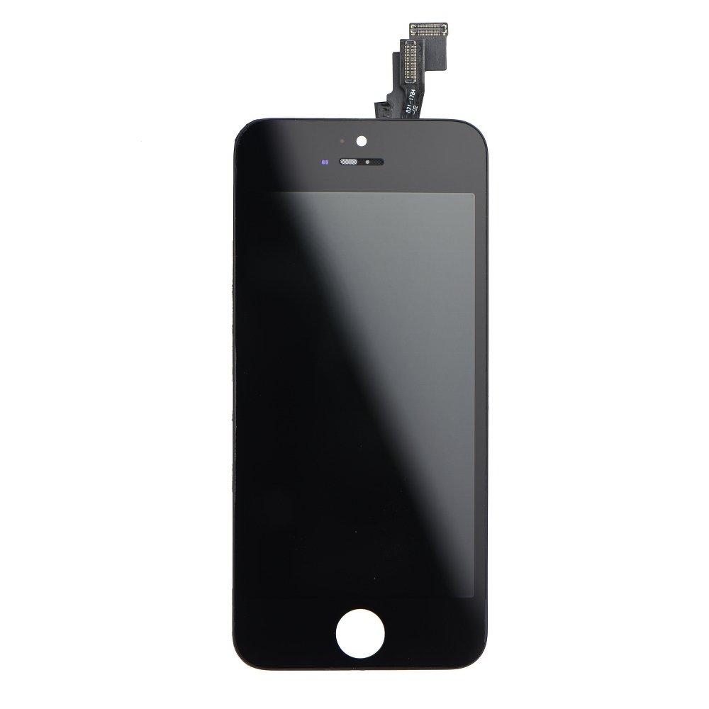 Dotyková deska iPhone 5C + LCD černá Class A