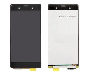 Dotyková deska Sony Xperia Z3 D6603, Z3 DUAL D6633 + LCD černá