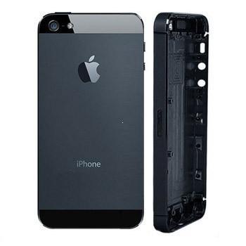 Kryt baterie + střední iPhone 5 originál barva black