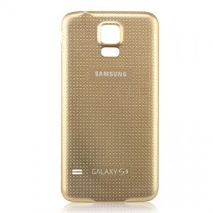 Samsung G900 Galaxy S5 kryt baterie zlatá