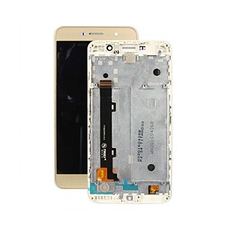 Dotyková deska Huawei Y6 PRO + LCD s rámečkem zlatá