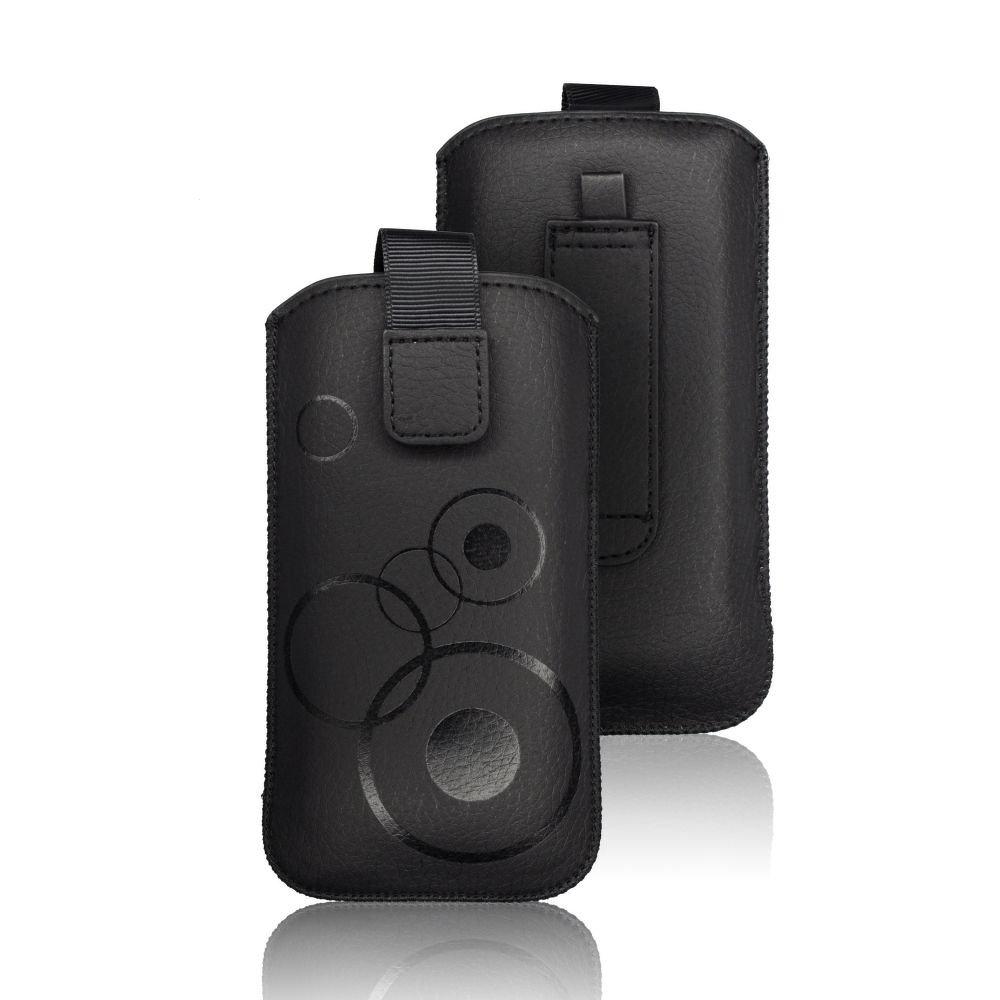 Pouzdro DEKO iPhone 6 PLUS, 6S PLUS, 7 PLUS, 8 PLUS, XS MAX, Hua MATE 10 Lite  barva černá