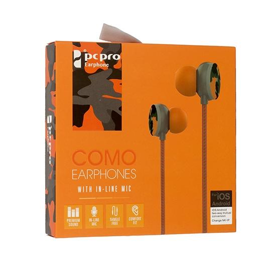 Hands Free COMO M8 3,5 mm jack Barva oranžová