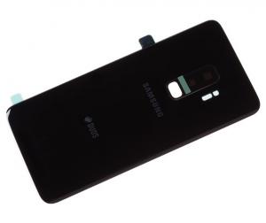 Samsung G965 Galaxy S9 PLUS kryt baterie + lepítka černá