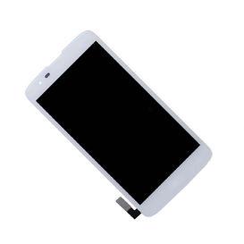 Dotyková deska LG K7 MS330 + LCD bílá - není určeno pro K7 X210