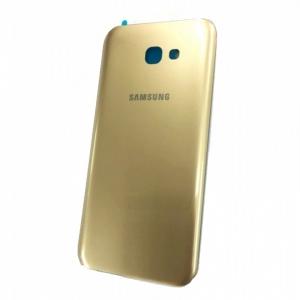 Samsung A720 Galaxy A7 (2017) kryt baterie + lepítka zlatá