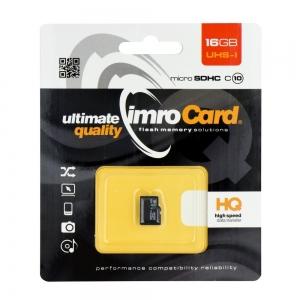 Paměťová karta micro SD IMRO 16GB Class 10 Blistr