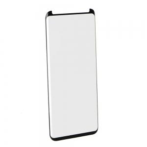 Tvrzené sklo 5D FULL GLUE Samsung N950 Galaxy NOTE 8 černá - velikost pro pouzdra