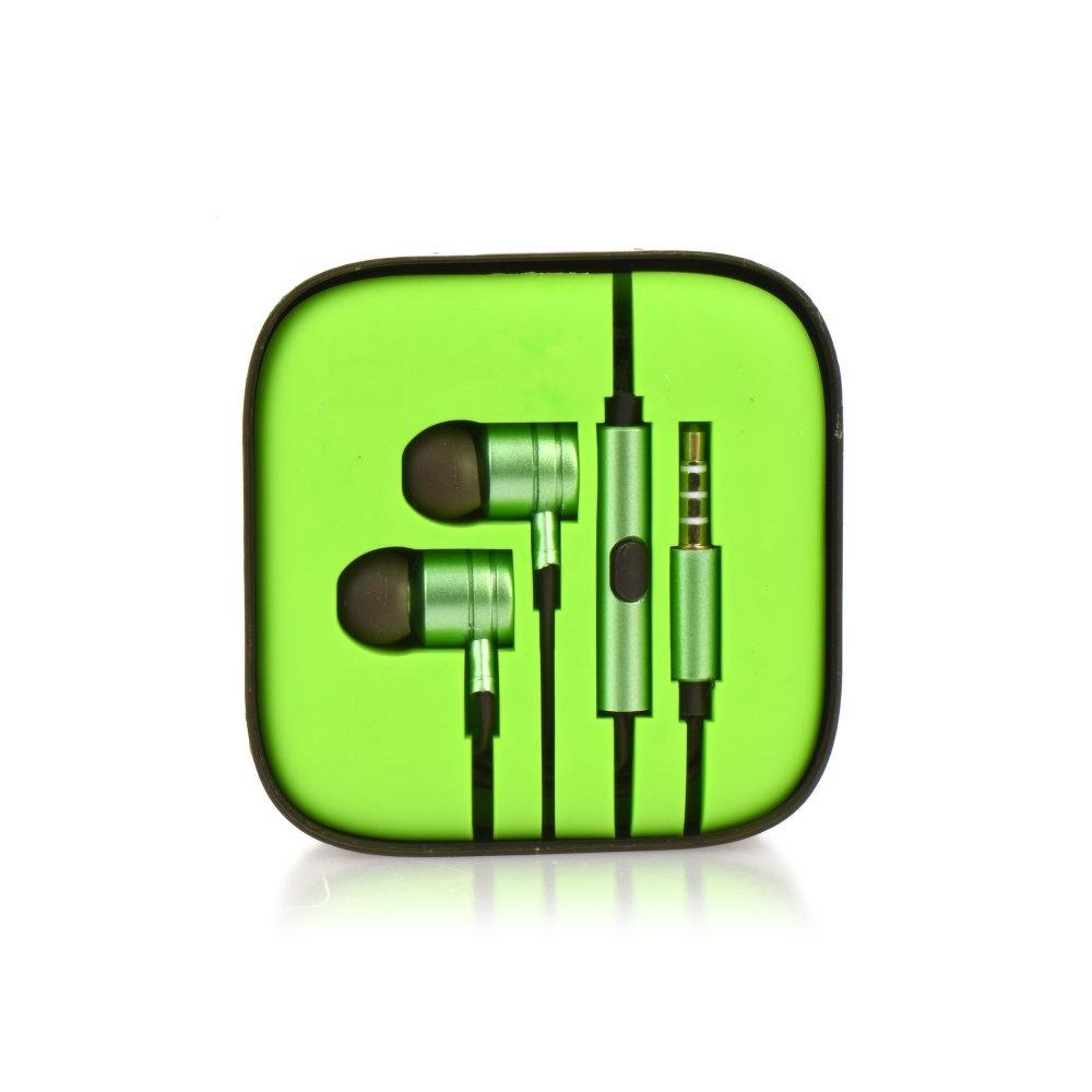 Hands Free Mi 3,5 mm jack Barva zelená