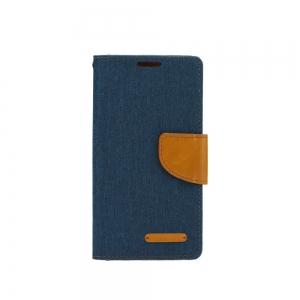 Pouzdro CANVAS Fancy Diary Samsung A605 Galaxy A6 PLUS (2018) navy blue