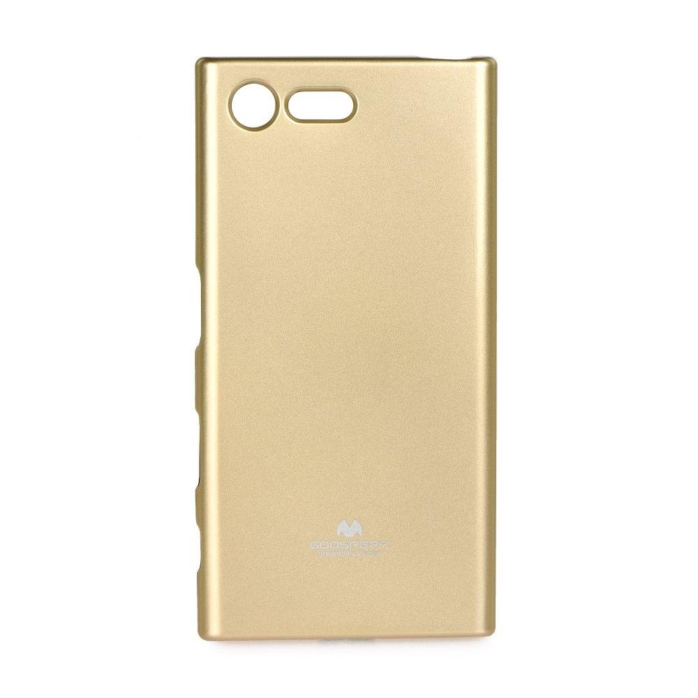 Pouzdro MERCURY Jelly Case Huawei P  SMART zlatá