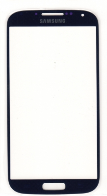 Dotyková deska Samsung i9505, i9500 Galaxy S4 modrá