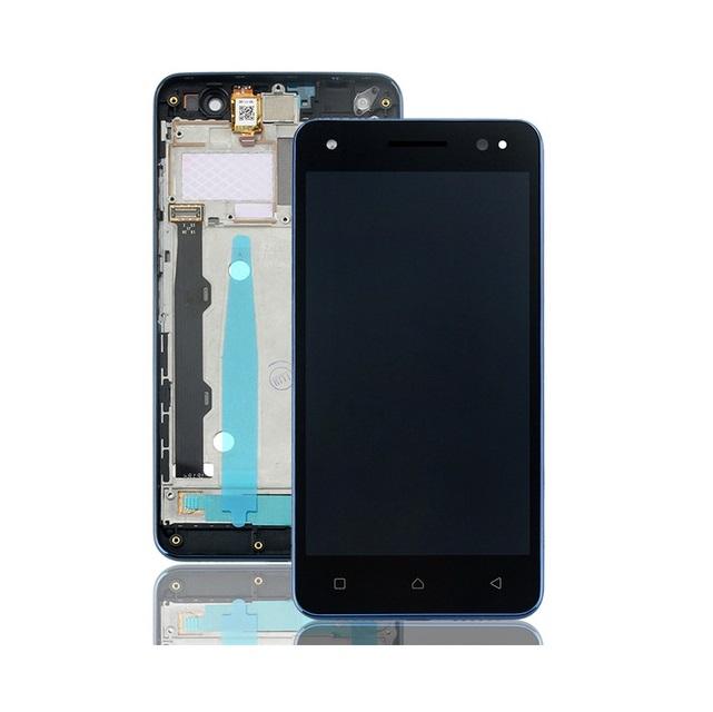 Dotyková deska Lenovo VIBE S1 LITE + LCD s rámečkem tmavě modrá